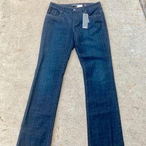 Christopher Blue Jeans Flare Dark Wash NEW 10